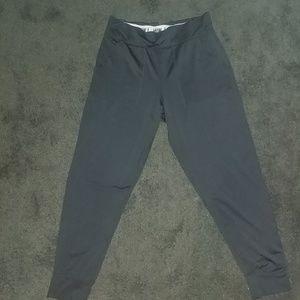 Energie black satin leggings